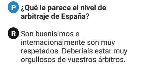 Palabras de Bibiana Steinhaus(Primera mujer en dirigir en la Bundesliga) sobre los árbitros españoles 😉😉 https://t.co/0xARfxjmH7