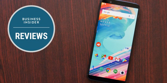 The OnePlus 5T is not only a bargain, it's the best Android phone you can buy at any price https://t.co/9pHg4wFKGx https://t.co/gniWdixFNX