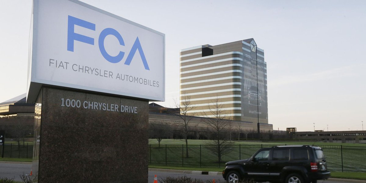 Fiat Chrysler, Eni cooperating on emissions reductions