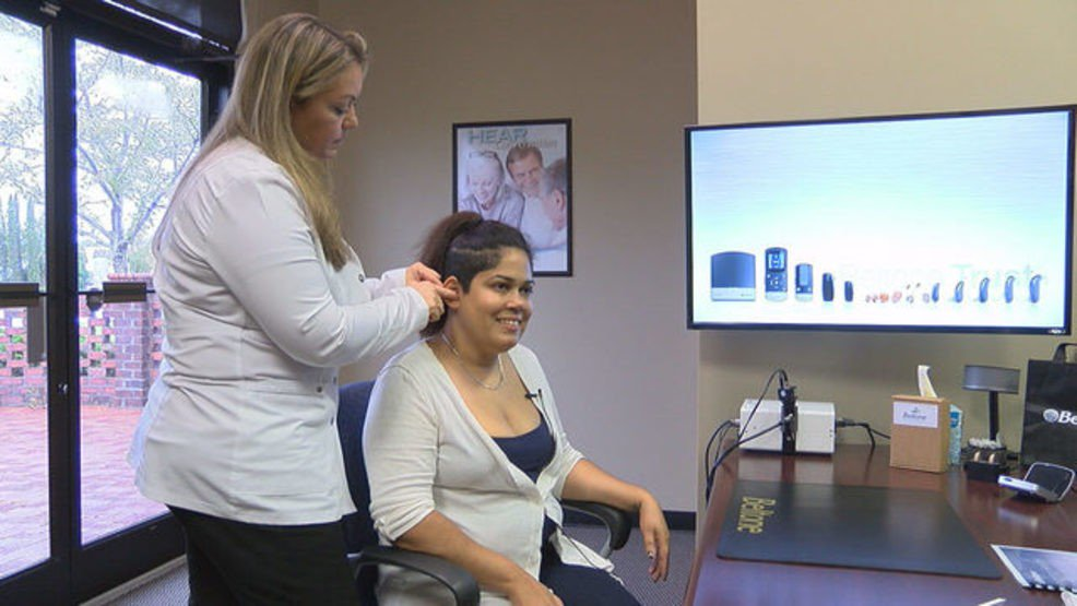 Woman who suffers from extreme hearing loss can hear again after 30 years