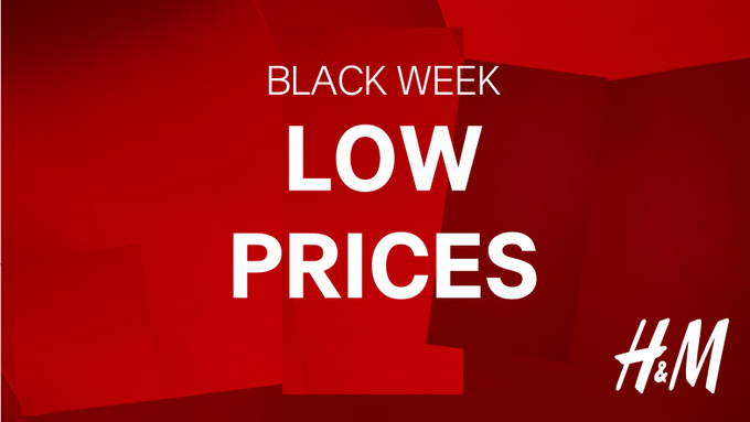 HAPPENING NOW! Enjoy great deals this Black Friday week. Your favorite fashion items at the best price. https://t.co/QJVEuz2IY2