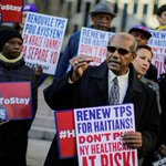 Many in Haiti thank US for renewal, not end, of protected status
