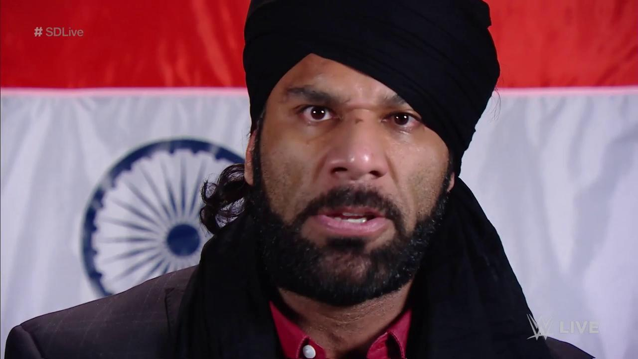 The #ModernDayMaharaja @JinderMahal wants a rematch for the #WWEChampionship... at #ClashOfChampions! #SDLive https://t.co/5w3ulSloi7