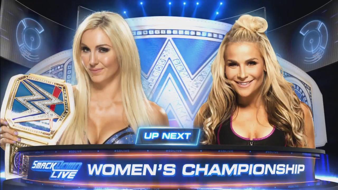 Just one week after becoming #SDLive #WomensChampion, @MsCharlotteWWE defends her title against @NatbyNature, NEXT! https://t.co/OPOJag8Ypi