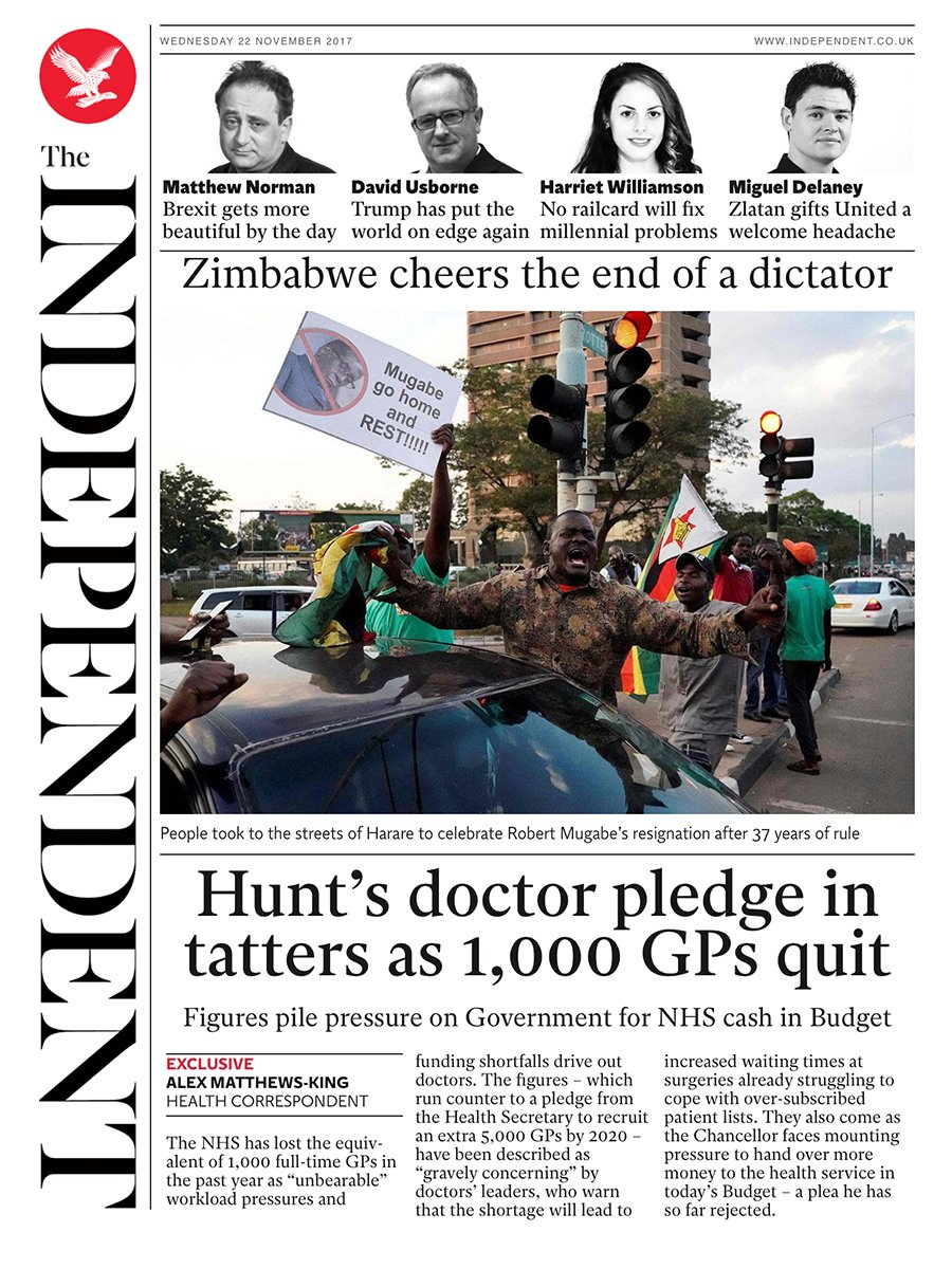 Tomorrow's @independent front page #tomorrowspaperstoday To subscribe to the Daily Edition: https://t.co/XF8VnDHiQd https://t.co/yqrxLYeZ53