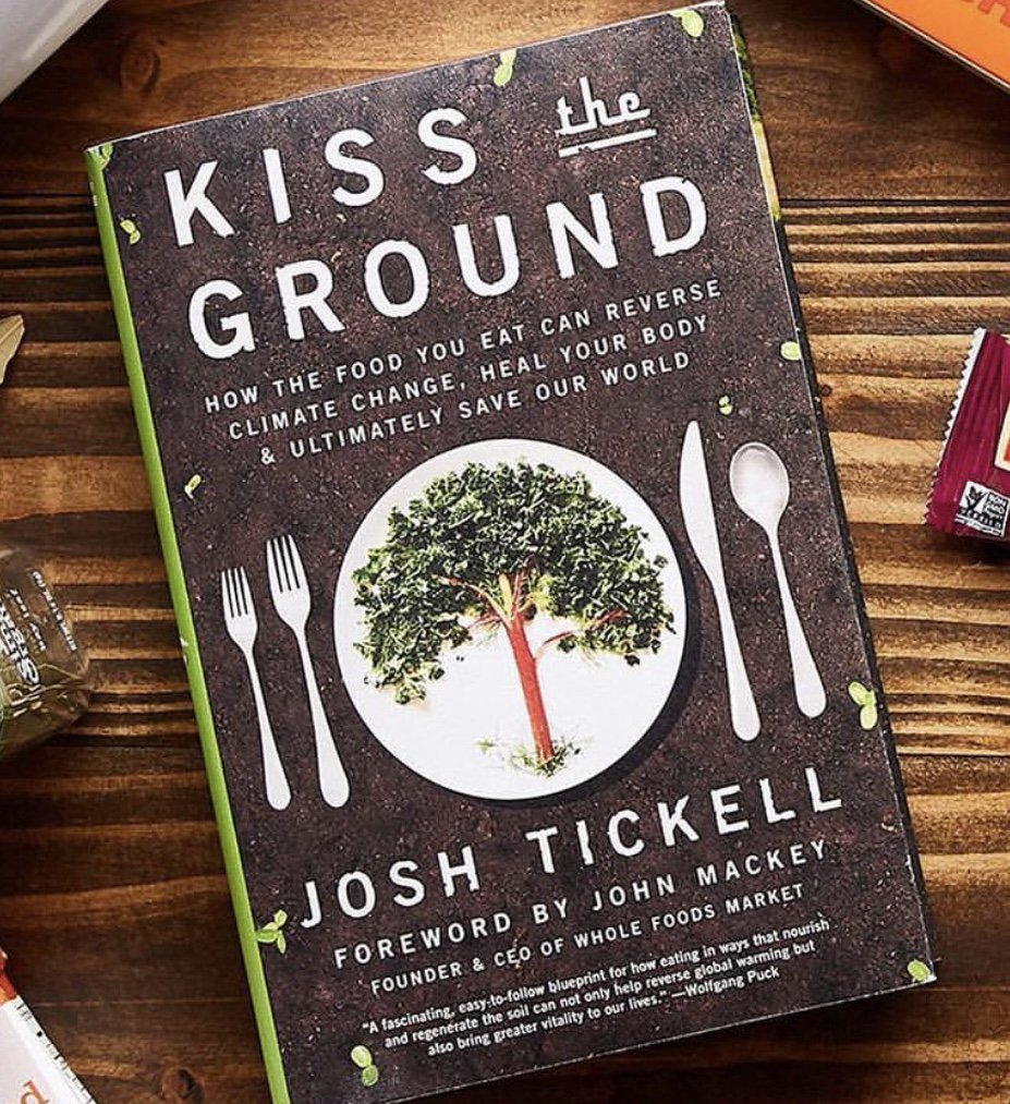 Our food choices can help save the world. Excited to read my copy of #kissthegroundbook  https://t.co/LzmJtbiIqr https://t.co/VaSYAYz7ze