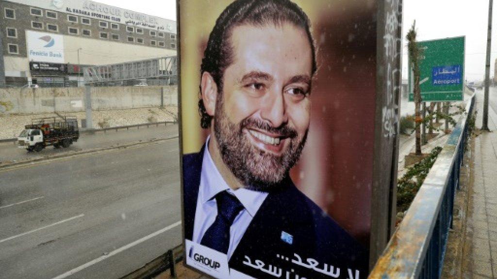 Lebanon's Hariri in Egypt ahead of return home