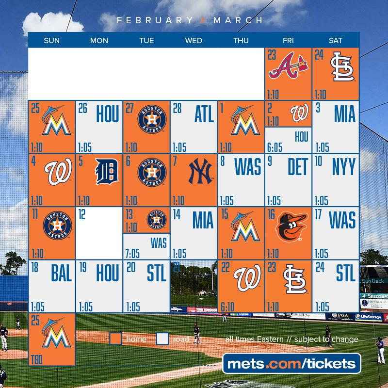 ICYMI yesterday we announced our 2018 #SpringTraining schedule. https://t.co/cf7N2MfFXa https://t.co/BUQrqY8v5L