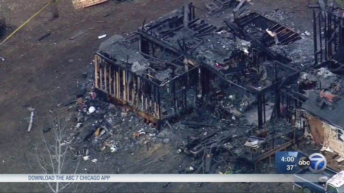 4 children, 2 adults killed in house fire outside Dixon ID'd
