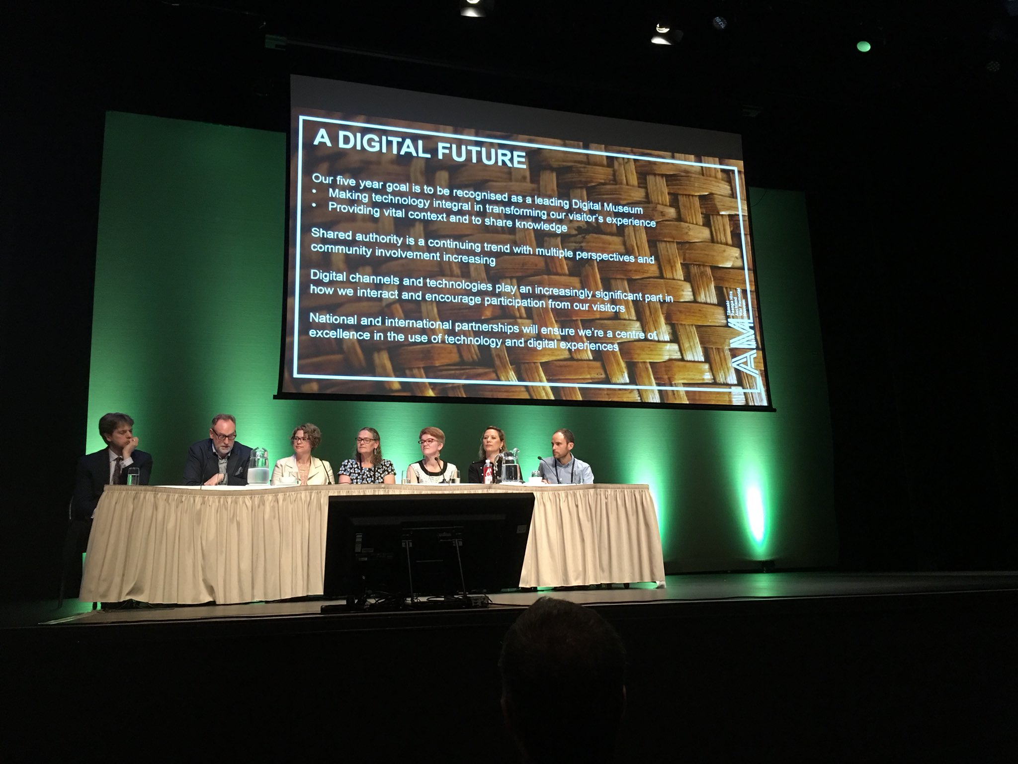 Five-year goal to be a leading digital museum from Auckland Museum's Director David Gaimster #NDFNZ https://t.co/Buw5Qee1xx