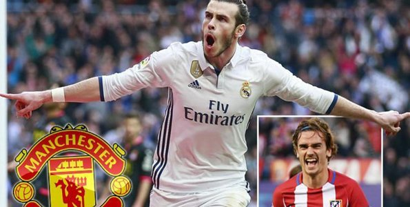 Bale, Griezmann wanukia Man United