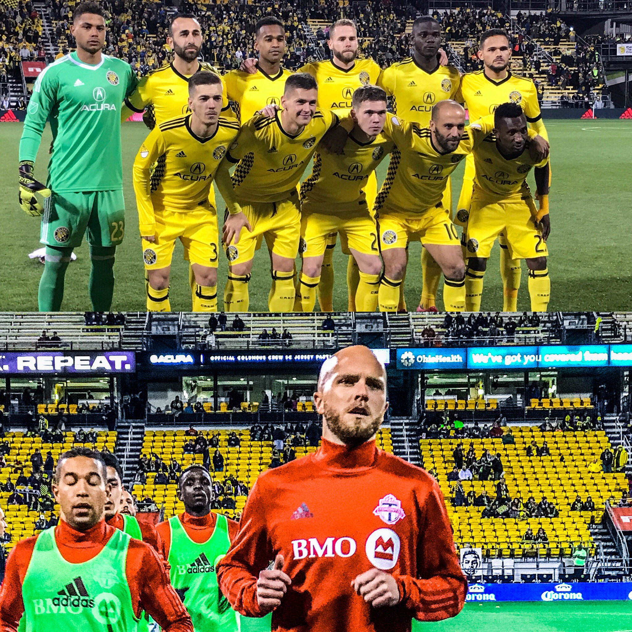It's time. #CLBvTOR on ESPN. https://t.co/PZ2cPeSLUL