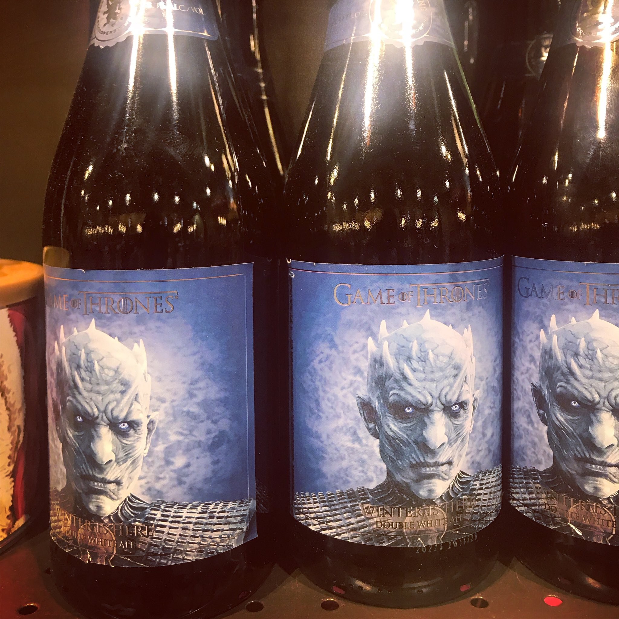 #gameofthrones #NightKing has his own beer. Winter has arrived. https://t.co/P6x5KWBcti