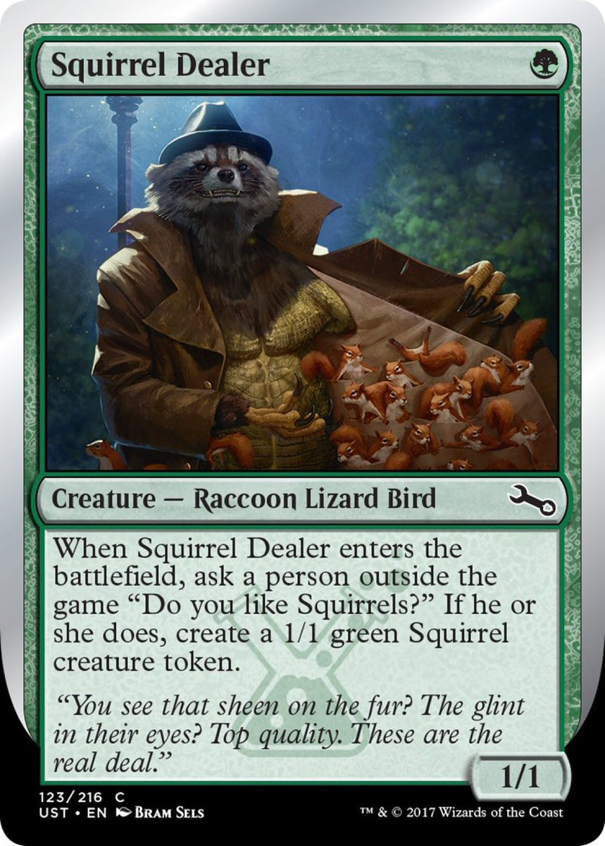 test Twitter Media - Do you like squirrels?  #MTG  I love this card :) https://t.co/pL0t7ayzQJ