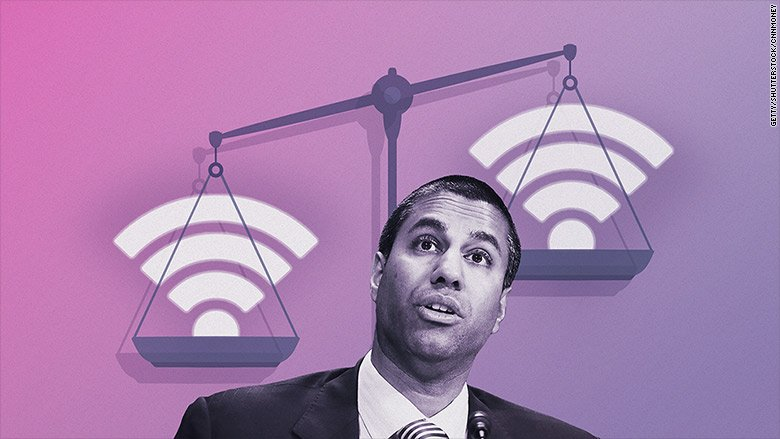 President Trump's FCC chair unveils his plan to repeal net neutrality
