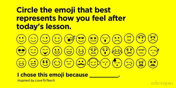 test Twitter Media - A simple, private way for teachers to gauge how their students are doing - Emojis! #SEL https://t.co/BAcAfBaCRb