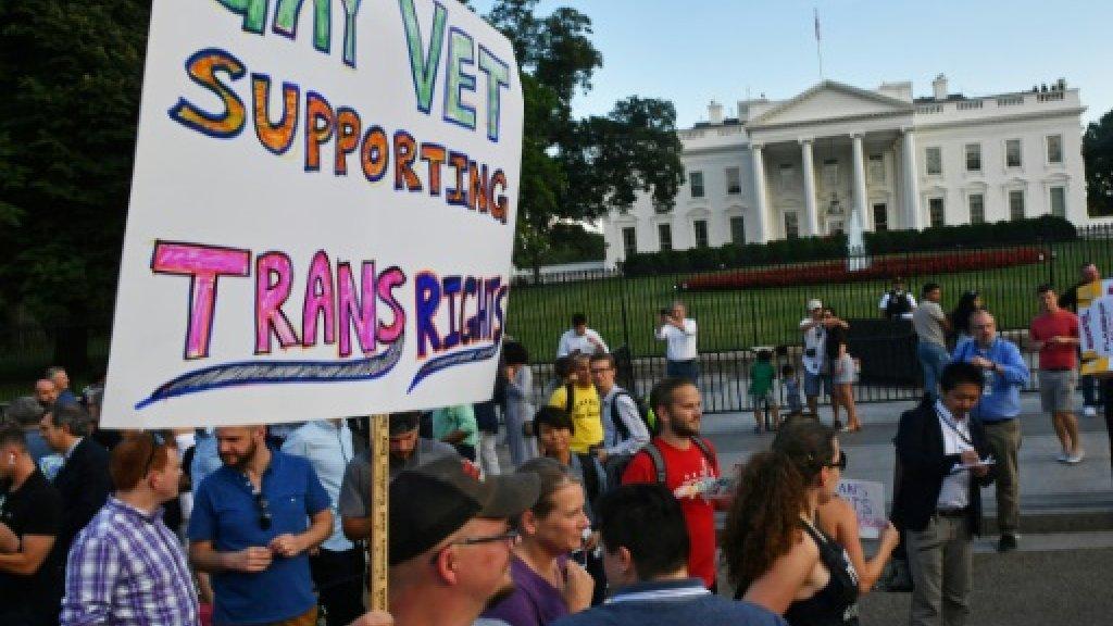 Second US judge bars Trump's military transgender ban