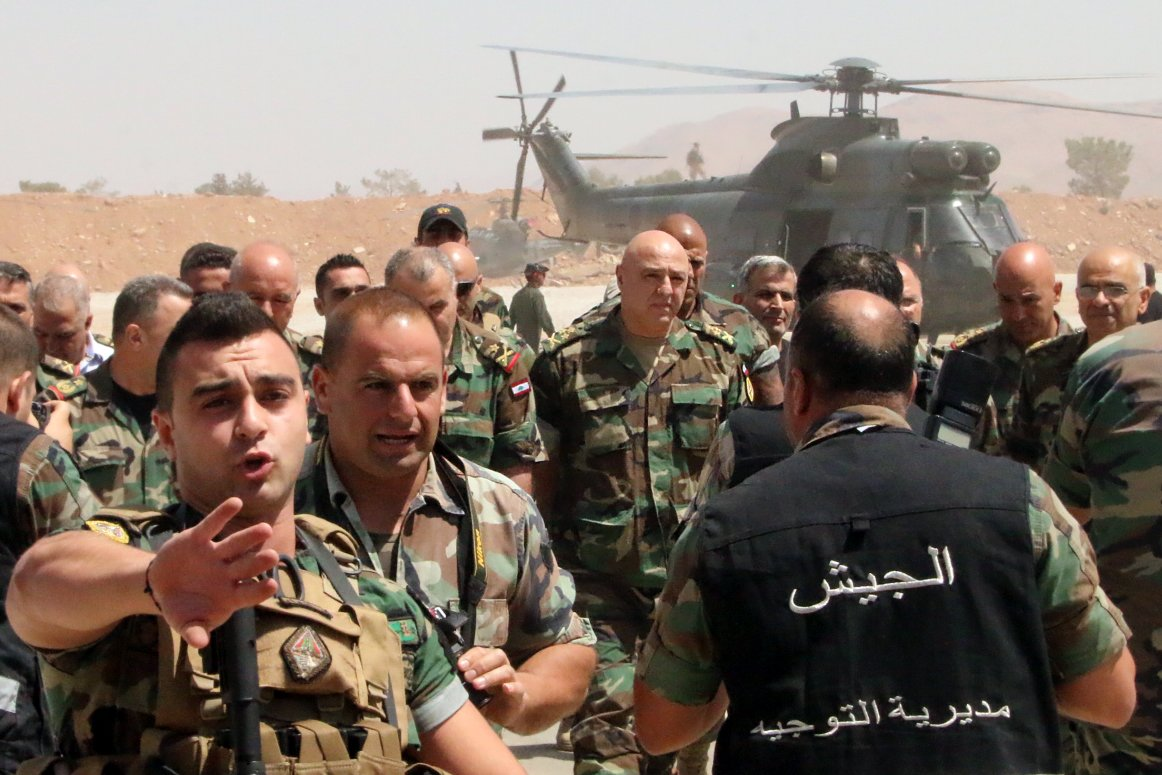 Lebanon's army told be ready for war with Israel after beating ISIS and Al-Qaeda