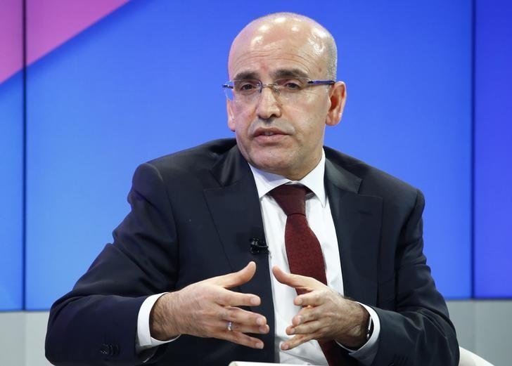 Turkey's Simsek says 'serious fluctuations' in markets, U.S. problem temporary