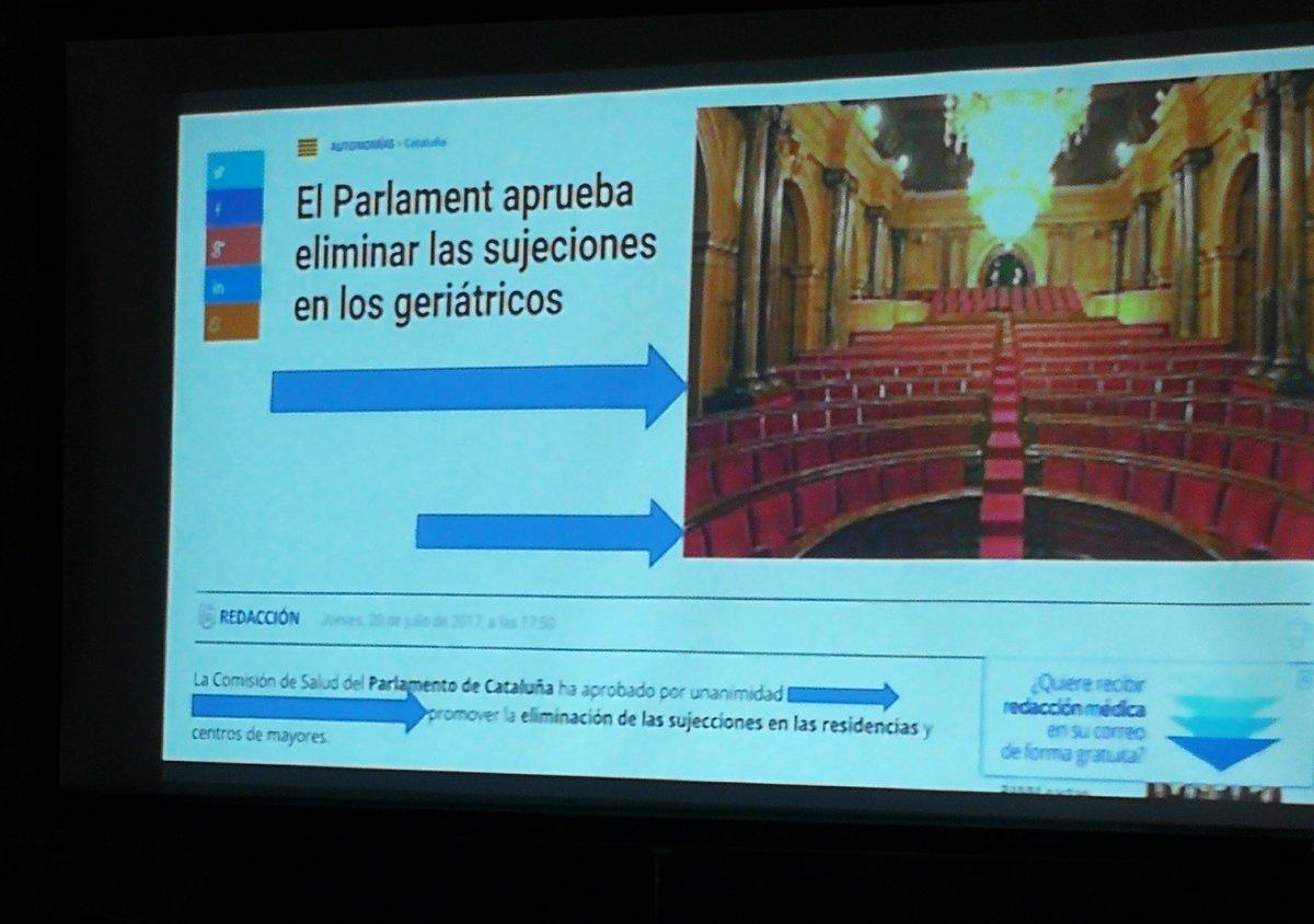 provar Twitter Mitjans - ⚖️🏛️ El @parlament_cat va aprovar fa dos mesos l'eliminació de les subjeccions als geriàtrics #CentreLliureSubjeccions https://t.co/vt43jqUtNa