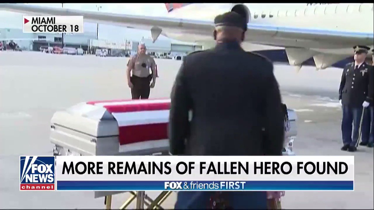 Investigators Find More Remains of US Soldier in Niger https://t.co/x2At1UXSIW