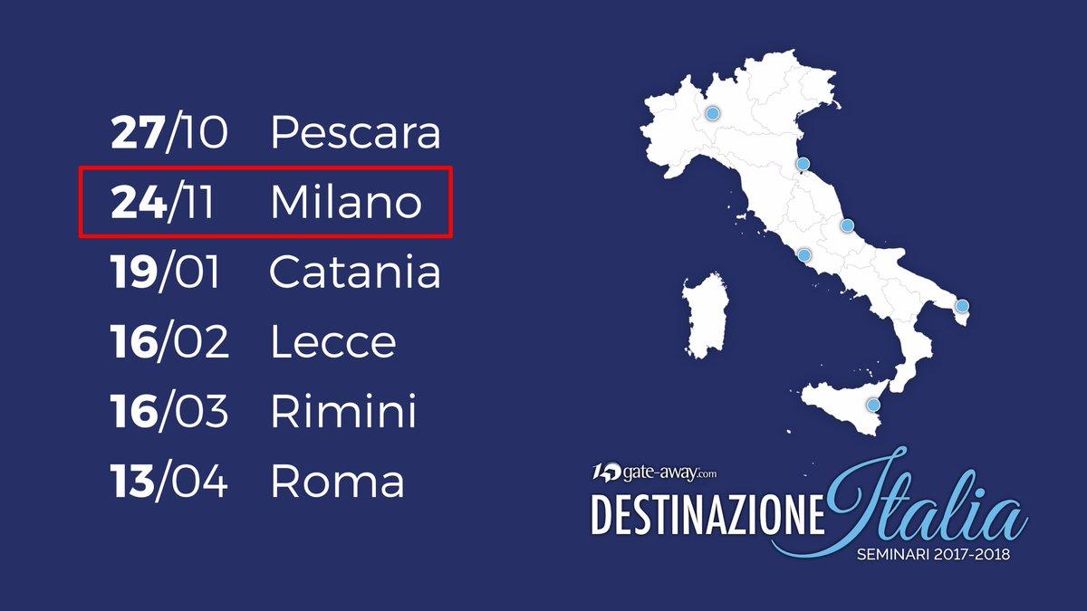 #destinazioneitalia