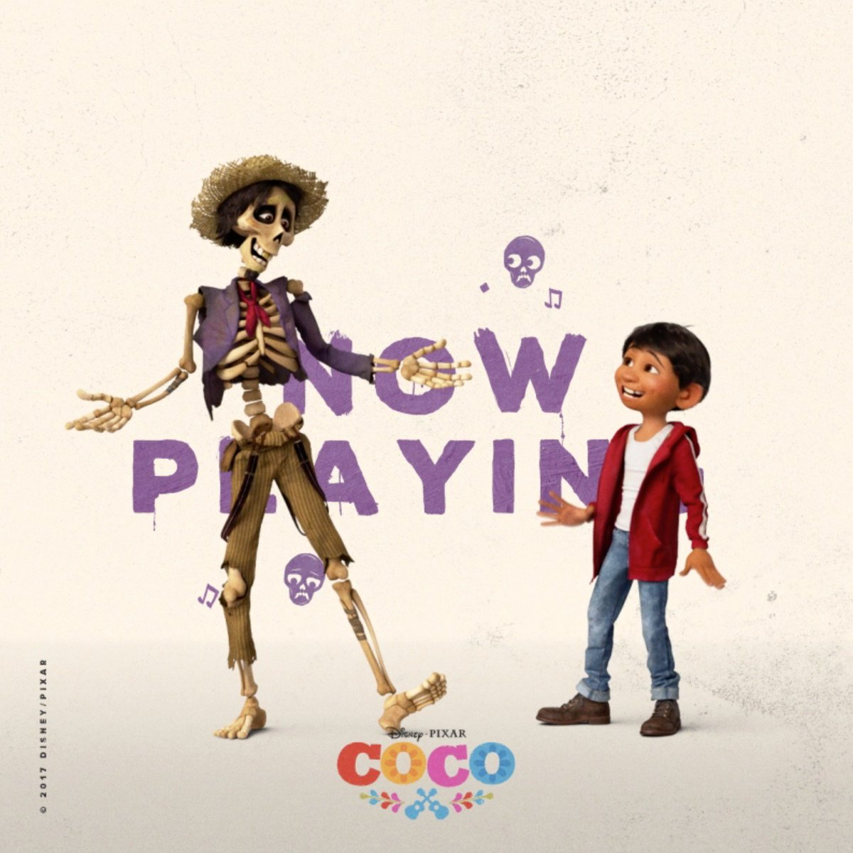 Stick together and see #PixarCoco in theatres now.
