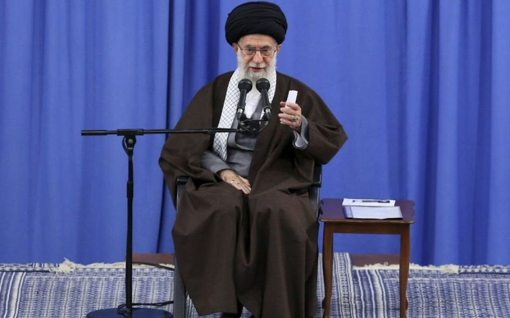 Iran's supreme leader hails end of IS 'tumor'