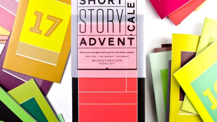 For book lovers, Christmas comes early thanks to the Short Story Advent Calendar