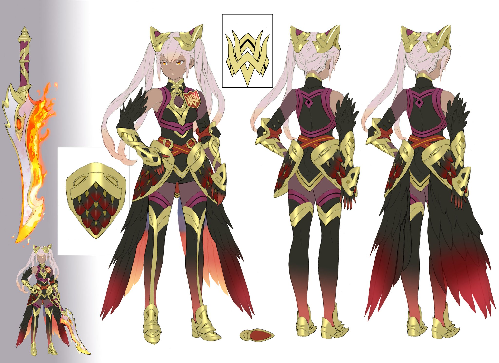 Check out this concept art for Laevatein, a brand-new Hero appearing in Book II of #FEHeroes! https://t.co/a4zDtxHoNx