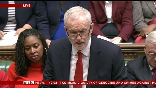 Corbyn slams government's lack of answers over Brexit https://t.co/kGnWqnkY8D #PMQs https://t.co/PwP5NI3t26
