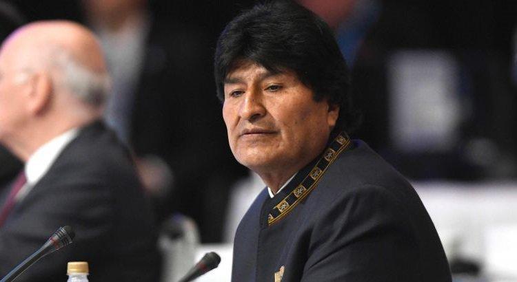 Manifestantes pedem nova candidatura de Evo Morales na Bolívia