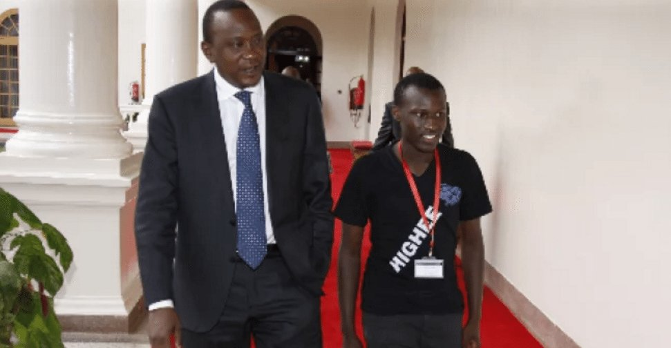Uhuru Kenyatta's son Daniel Owira has grown right before our eyes and we are amazed