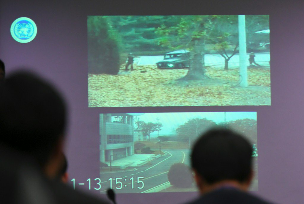 Video shows North Korean soldier's daring, bullet-ridden defection to South