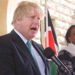 Boris Johnson under fire again for congratulating President Kenyatta
