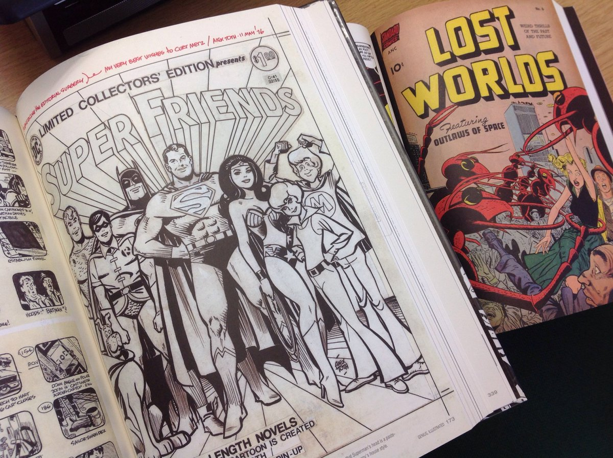 test Twitter Media - RT @londonmetlib: @jfornes74 Great picture! We love Alex Toth at Aldgate Library! https://t.co/rZJt09vVIZ