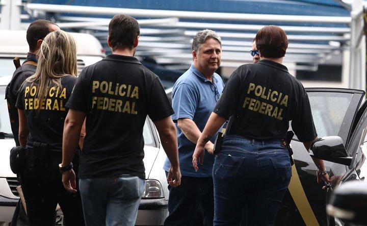 @BroadcastImagem: Após ser preso pela Polícia Federal, Anthony Garotinho segue para exames no IML. Fábio Motta/Estadão