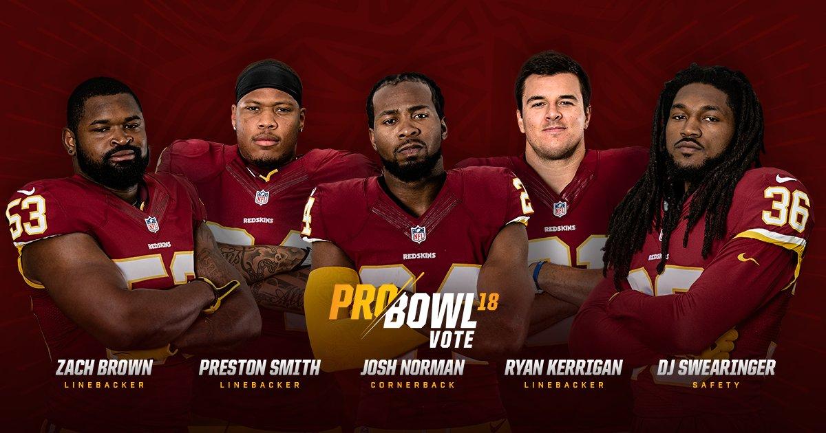 Send our squad to the 2018 Pro Bowl.  #ProBowlVote: https://t.co/hGNeyRjyWP https://t.co/3DXwWSkbN9