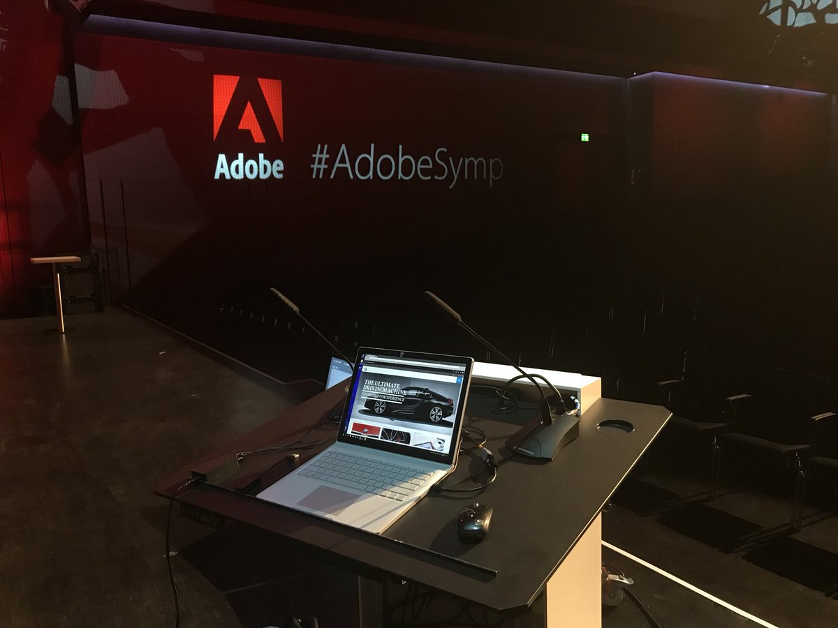 #AdobeSymp