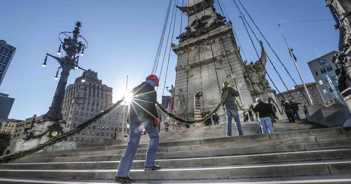 Changes are coming to the 2017 Circle of Lights in Downtown Indianapolis