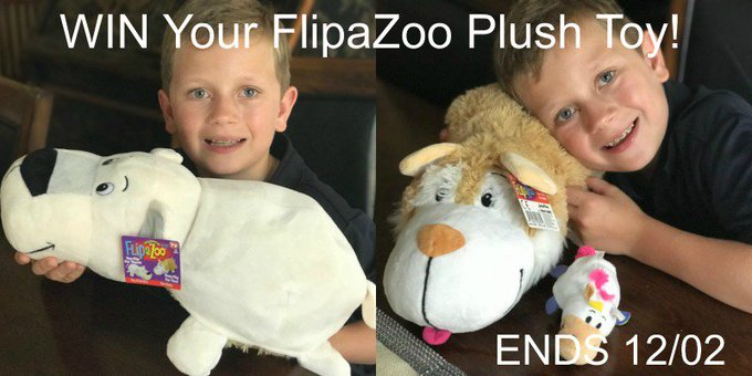 FLIPAZOO PLUSH TOY/PILLOW-1-US-Ends 12/2