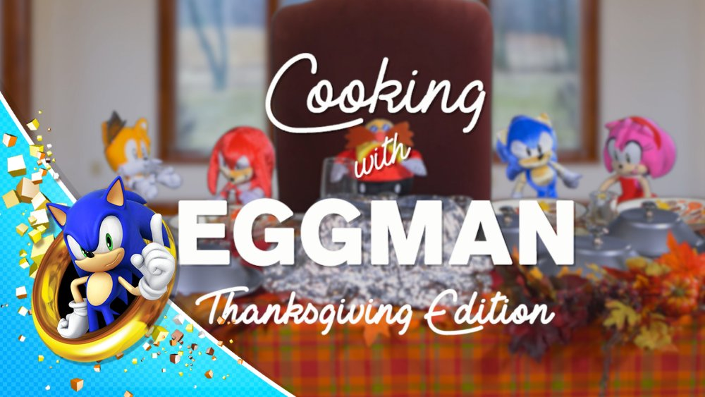 "Thanksgiving is almost here! Learn how to impress your in-laws in the latest ""Cooking with Eggman"". https://t.co/bgUAuGm9ml"