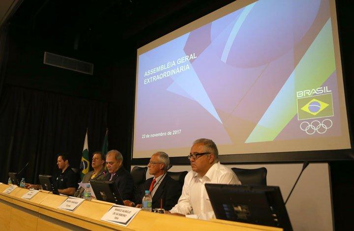 @BroadcastImagem: Após empate, dirigentes anulam voto e atletas ganham menos espaço no COB. Wilton Júnior/Estadão