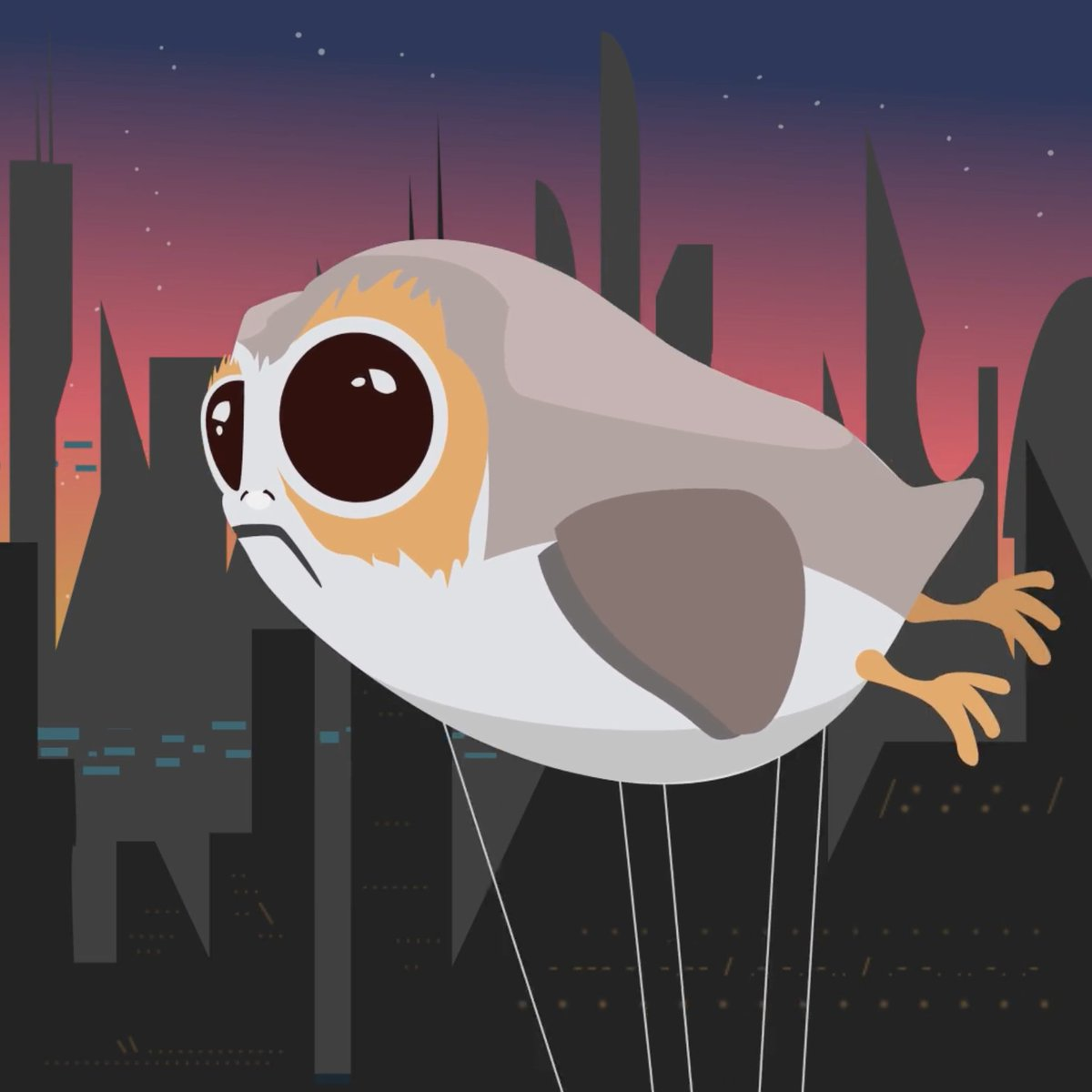 May the Porg be with you this Thanksgiving. 💫 @StarWars #TheLastJedi is in theaters December 15.