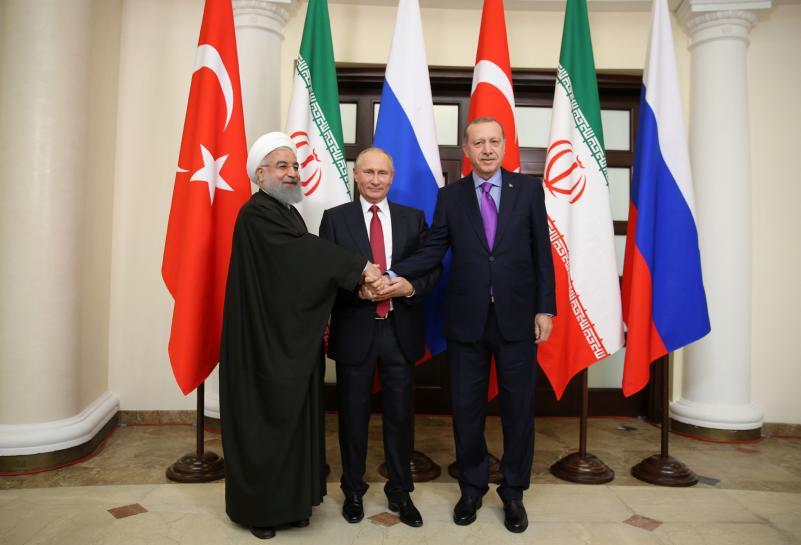test Twitter Media - Putin hosts Iran, Turkey leaders in major new Syria diplomacy push https://t.co/viRJLyFvWs https://t.co/GWXIdwBSeD