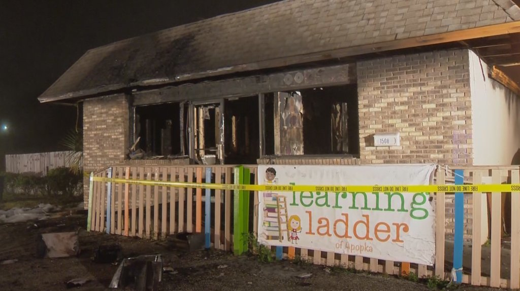 Orange County day care damaged in fire