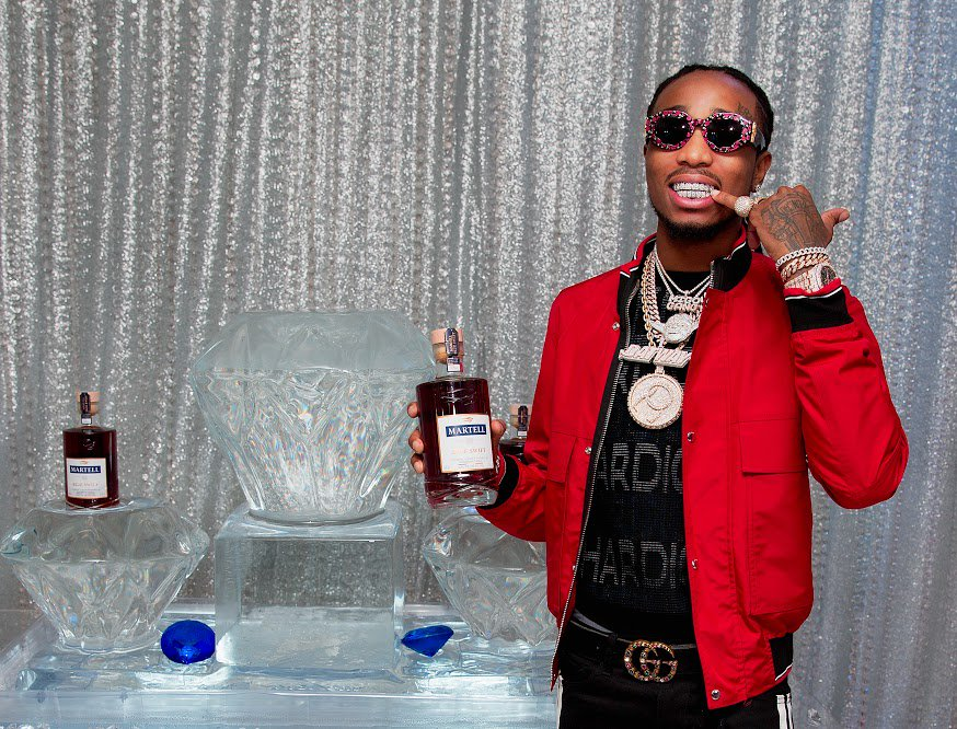 �� The Icy Way �� @QuavoStuntin at the @MartellUSA Houston H.O.M.E. event. #StaySwift #BeCurious https://t.co/eG4BROHa6N