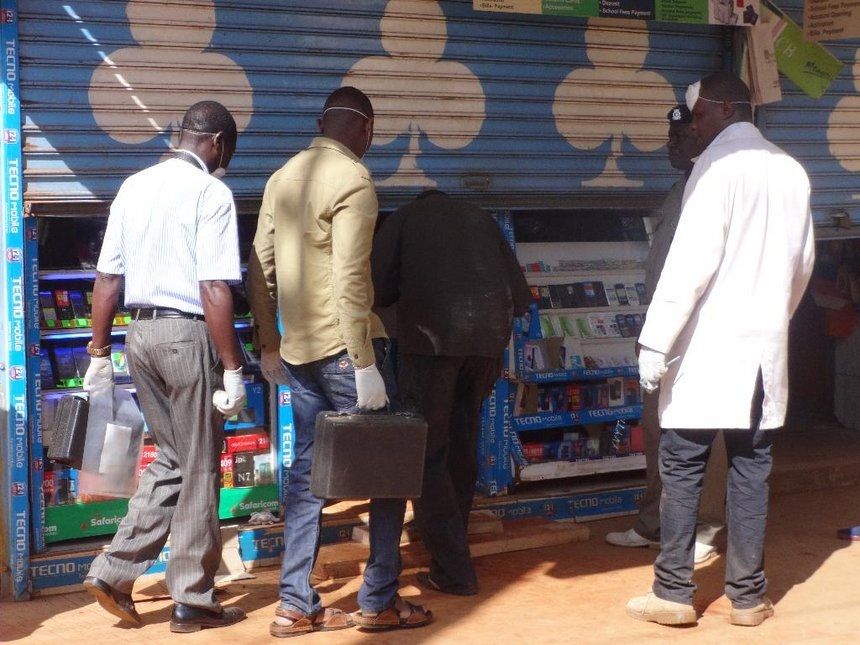 Bank robbers nice, quiet 'booksellers' ferrying soil