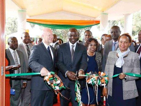 Ruto launches Sh250m lab for testing fertiliser, seeds and GMOs