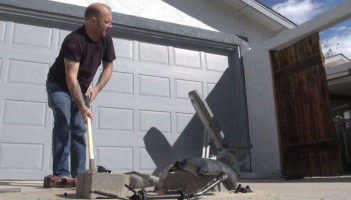 CA man destroys own AR-15 in protest - | WBTV Charlotte